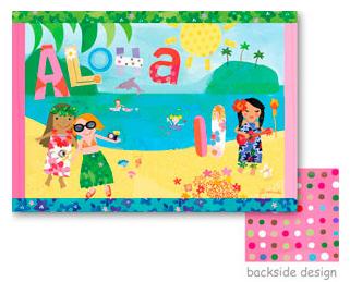 Aloha place mat