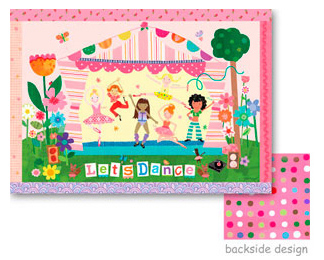 Let's Dance place mat