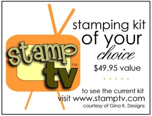 StampTV-Gina K. Designs prize package