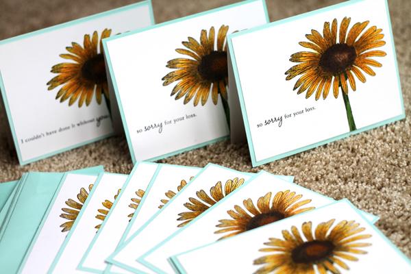 011010 Daisy Cards