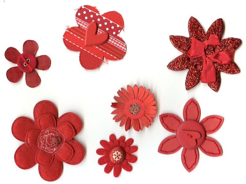 Flowers - Red