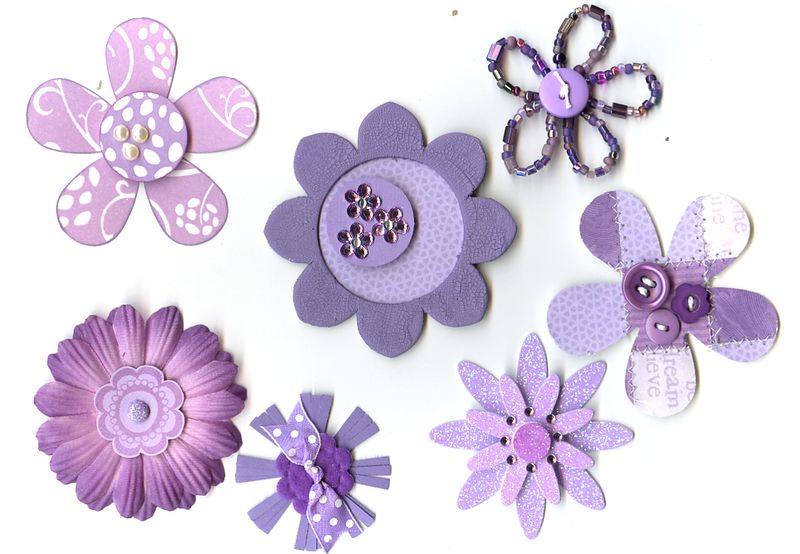 Flowers- Purple